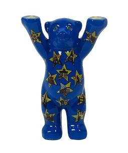 Stars on Blue Mini-Miniatur 6cm