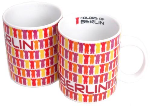 Coffee Mug Set Little Buddies red (Set of 2 Mugs)