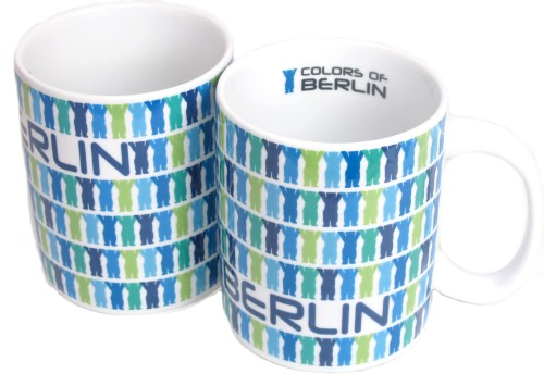 Coffee Mug Little Buddies blau (2er Set)