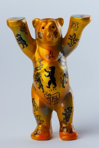 Berliner Wappentier, Mini-Miniature, 6 cm