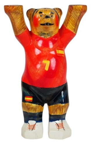 Buddy Bear WT- Spain 12 cm