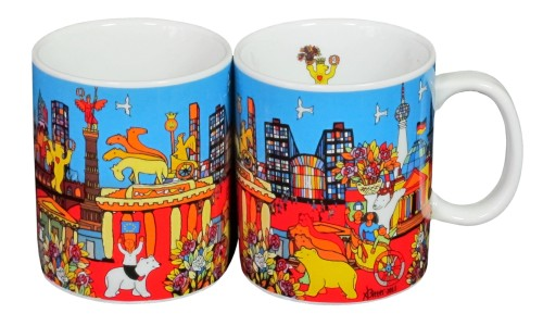 Coffee Mug Set Bärenstadt (Set of 2 Mugs)