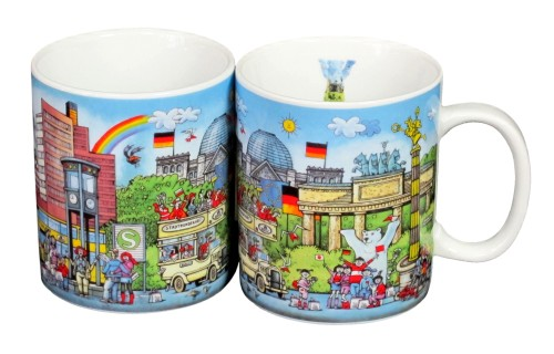 Coffee Mug Berlin Comic I (2er Set)