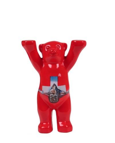 Schweizer Kreuz Mini-Miniatur 6cm