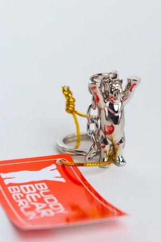 Schlüsselanhänger Mini, metallic 3D