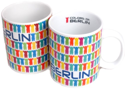 Coffee Mug Little Buddies bunt (2er Set)