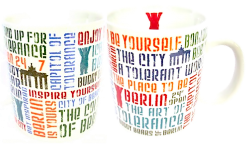 Coffee Mug Berliner Netz (2er Set)