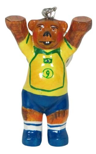 Schlüsselanhänger WT-Kicker Brazil