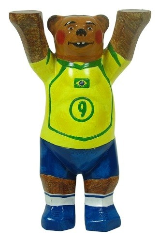 Buddy Bear WT- Brasil 12 cm