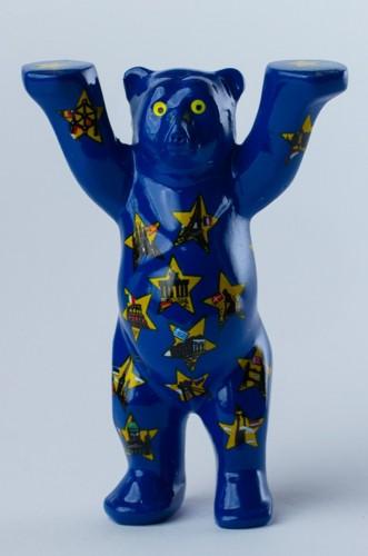Stars on Blue, Mini-Miniatur, 6 cm