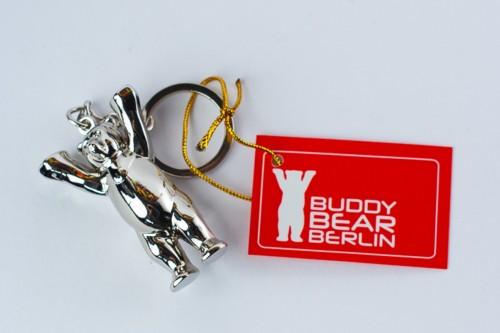 Schlüsselanhänger, metallic 3D